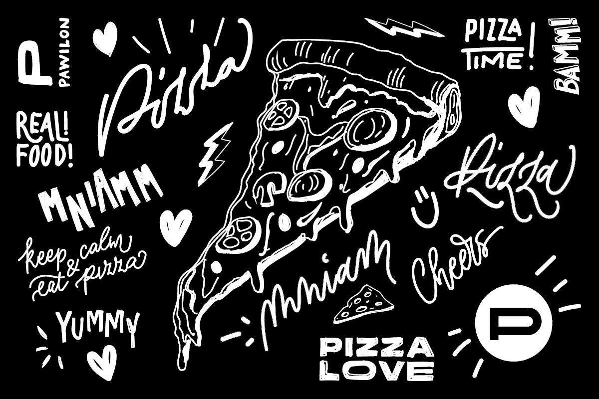 brand Drawing  identity ILLUSTRATION  menu menu design restaurant sketch typography   visual identity