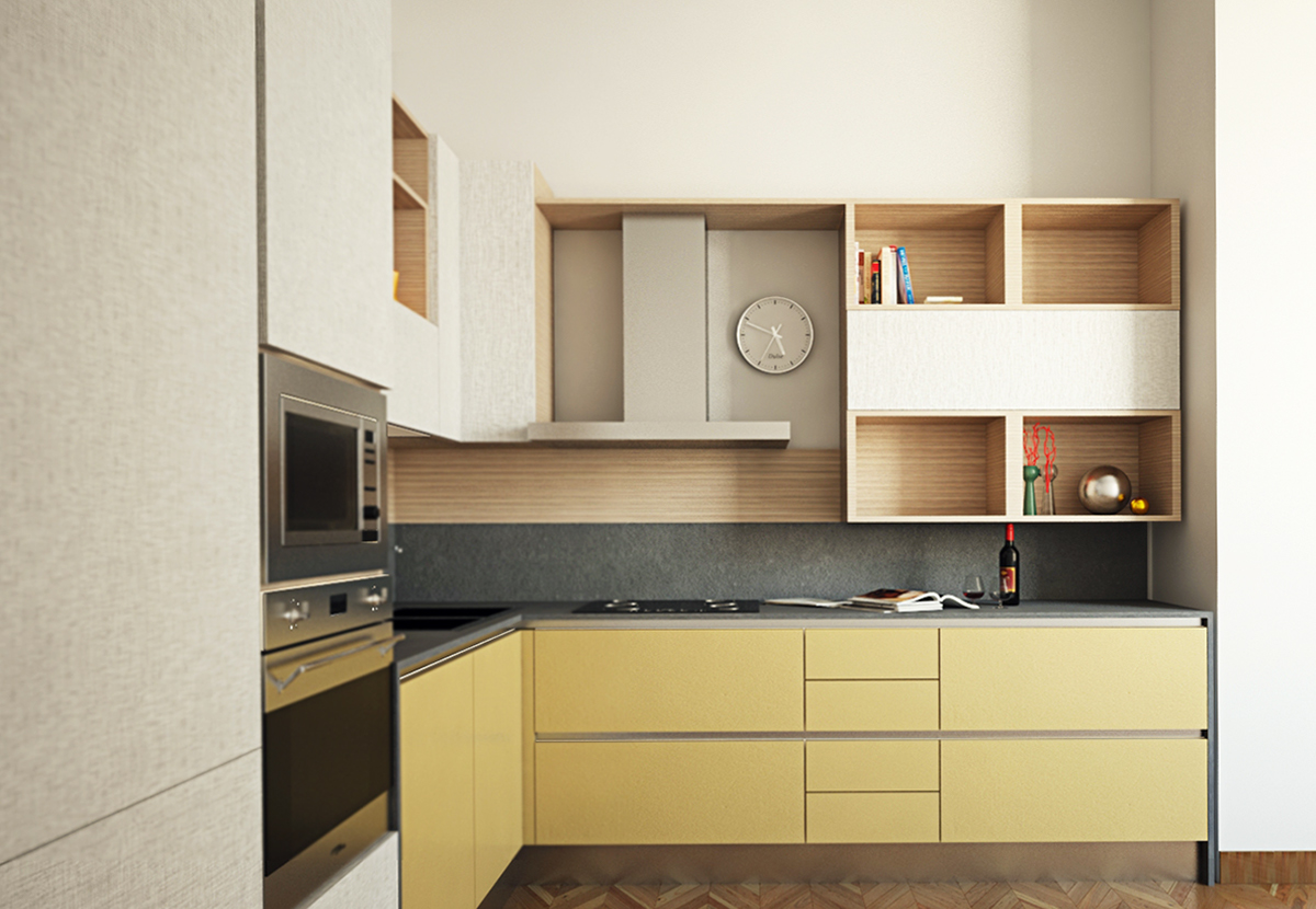 kitchen design design classico ristrutturazione Render V Ray 3dsmax rendering modellazione modeling poin of view