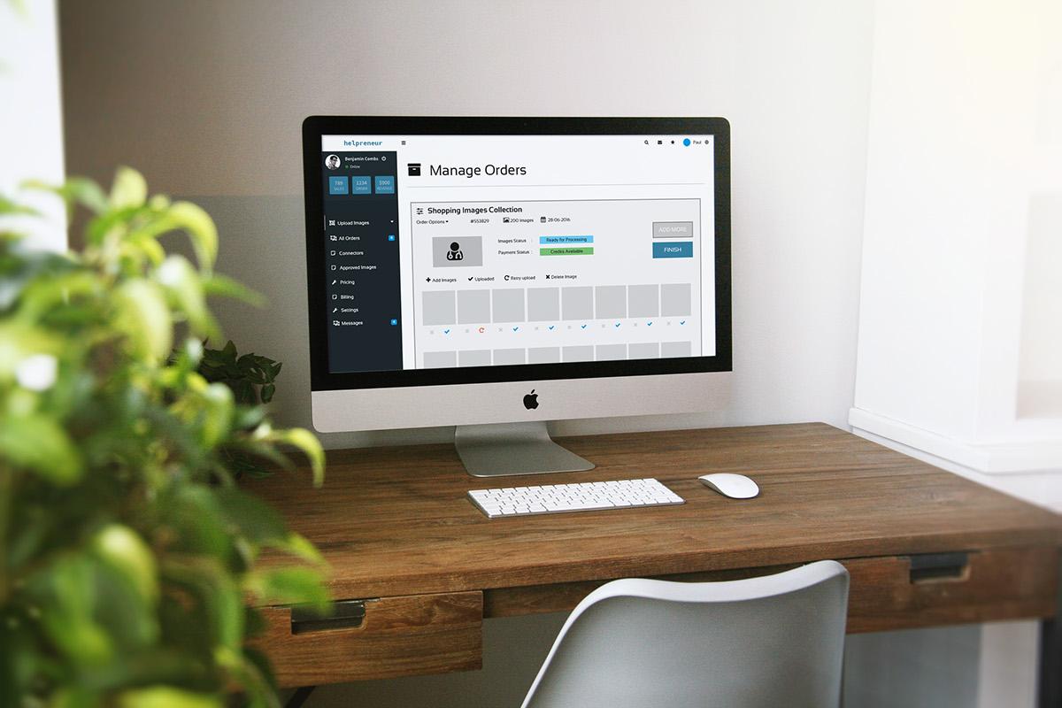 ux wireframe web app Website