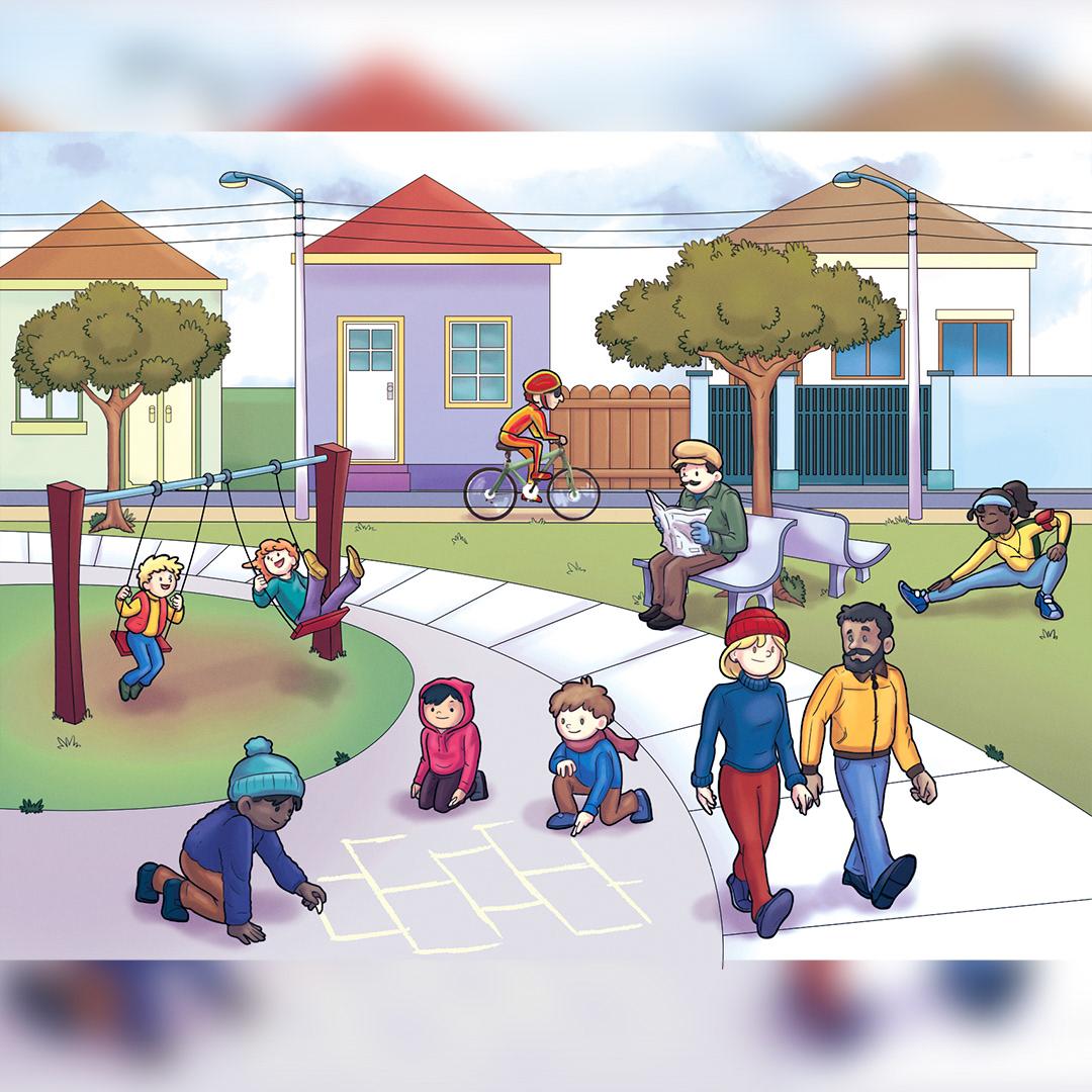 Cenário painting   Paisagem pintura scenario xilogravura