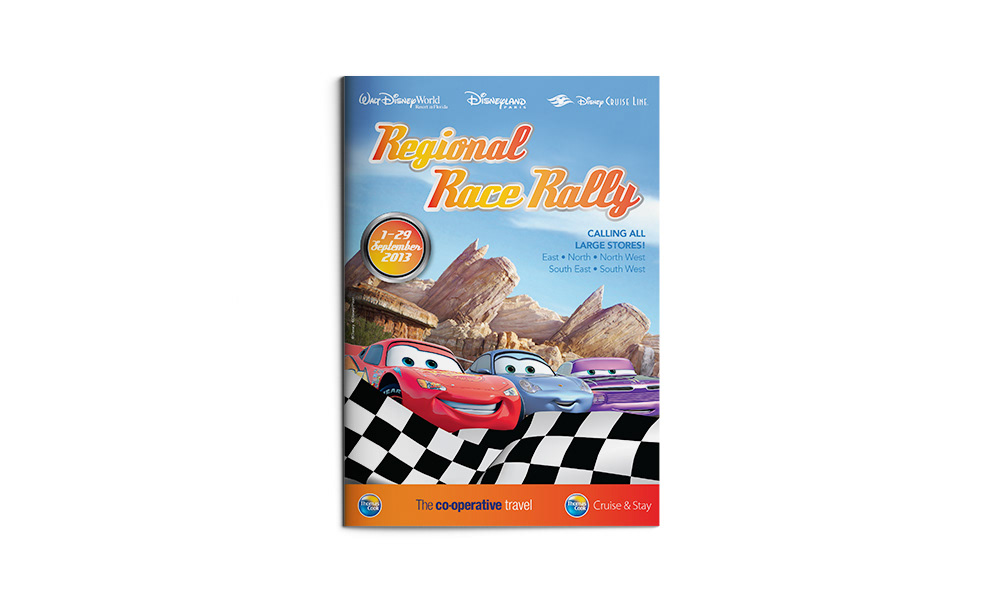 disney Cars print print design  graphic design  editorial