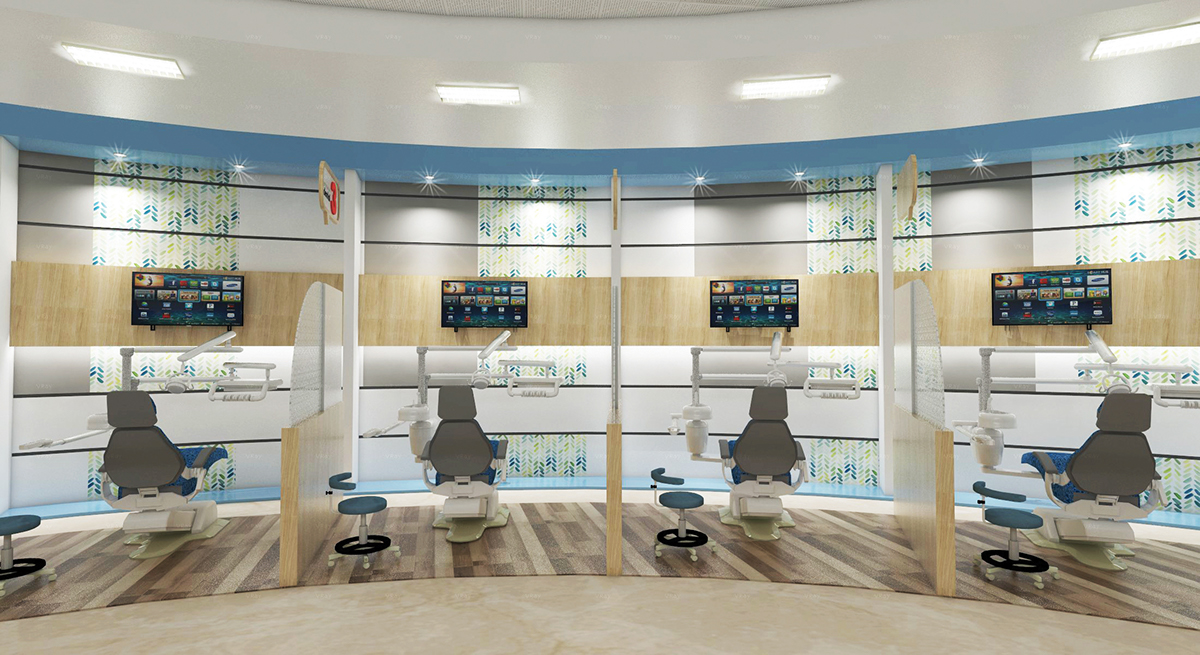 Dental Health Care Hospital - Interior Design- Ano DSGN on ...