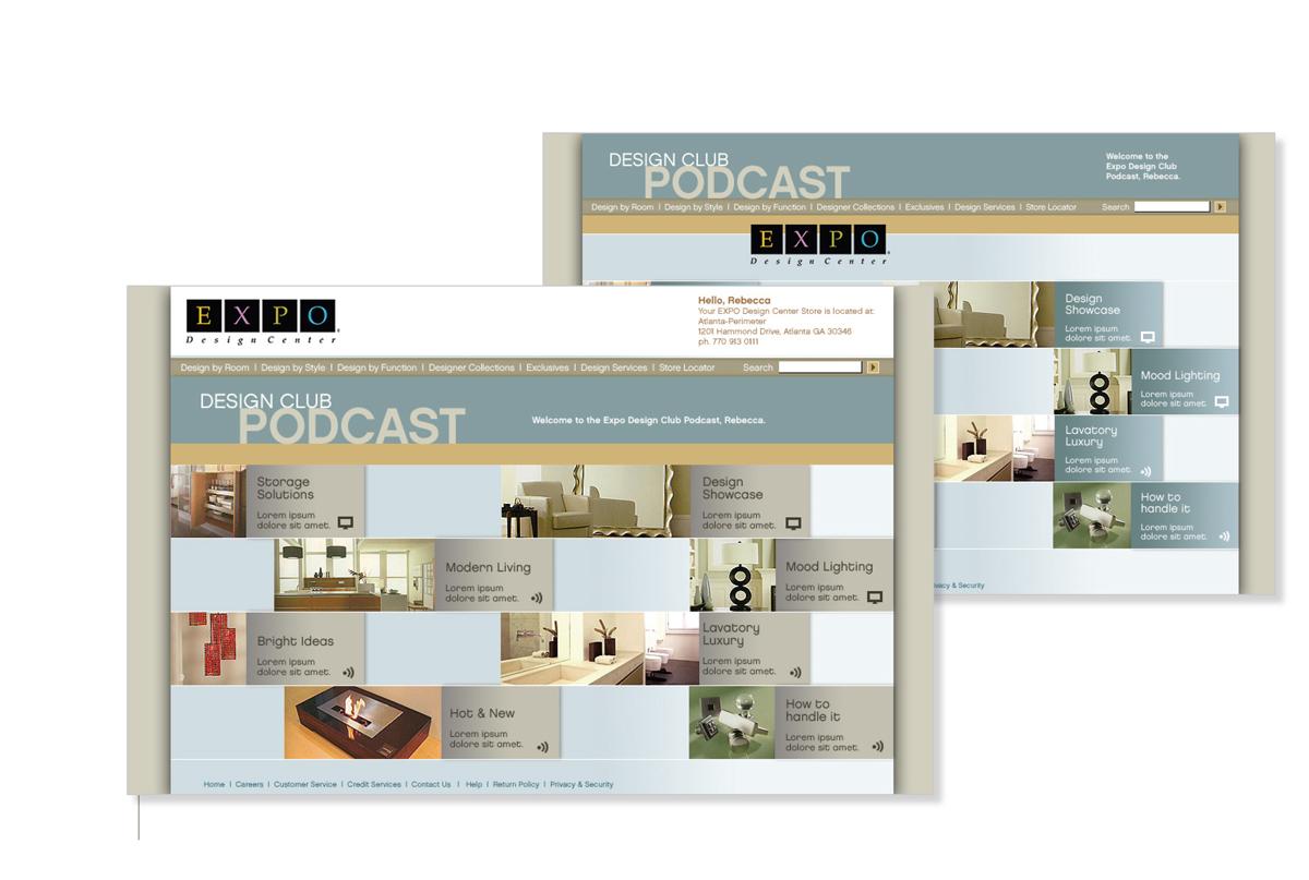 The Home Depot EXPO User Scenario Design Studies