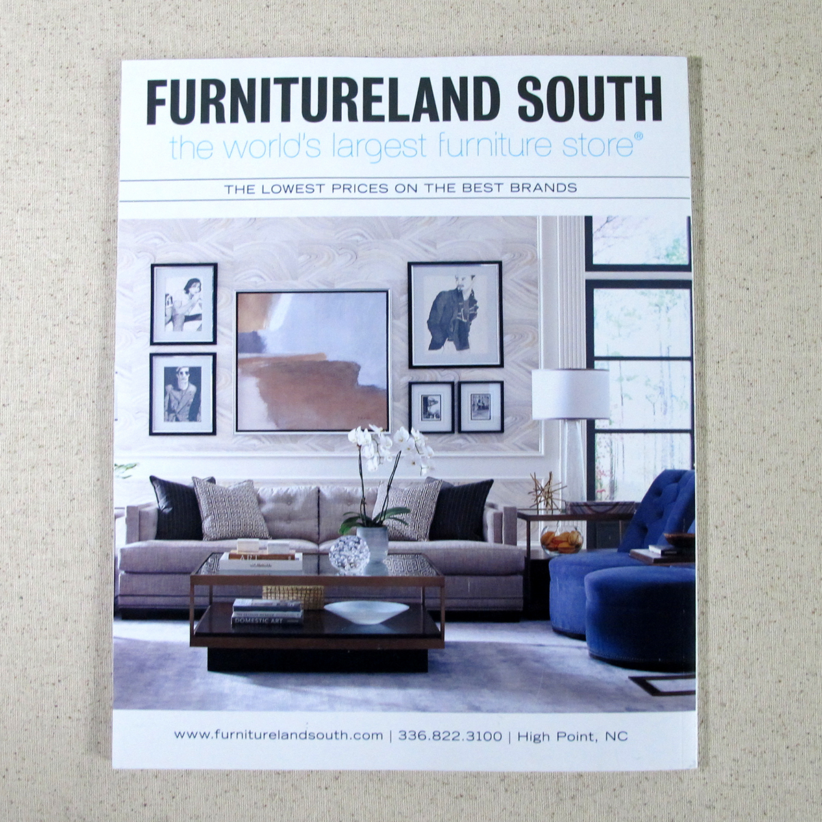 Print Advertising For Furnitureland South On Aiga Member
