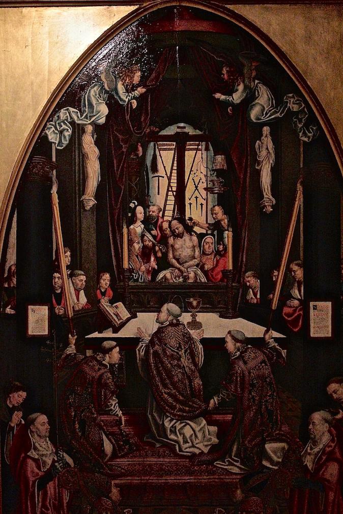 Alessandro Zir utrecht Netherlands Catharijneconvent Museum medieval art Luso-Brazilian Encounters painting   Saint Theodosia altar