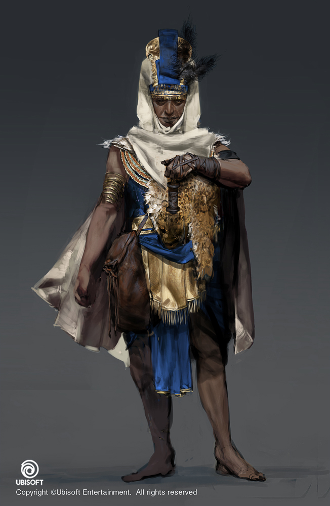Assassin S Creed Origins Character Concept Art On Behance