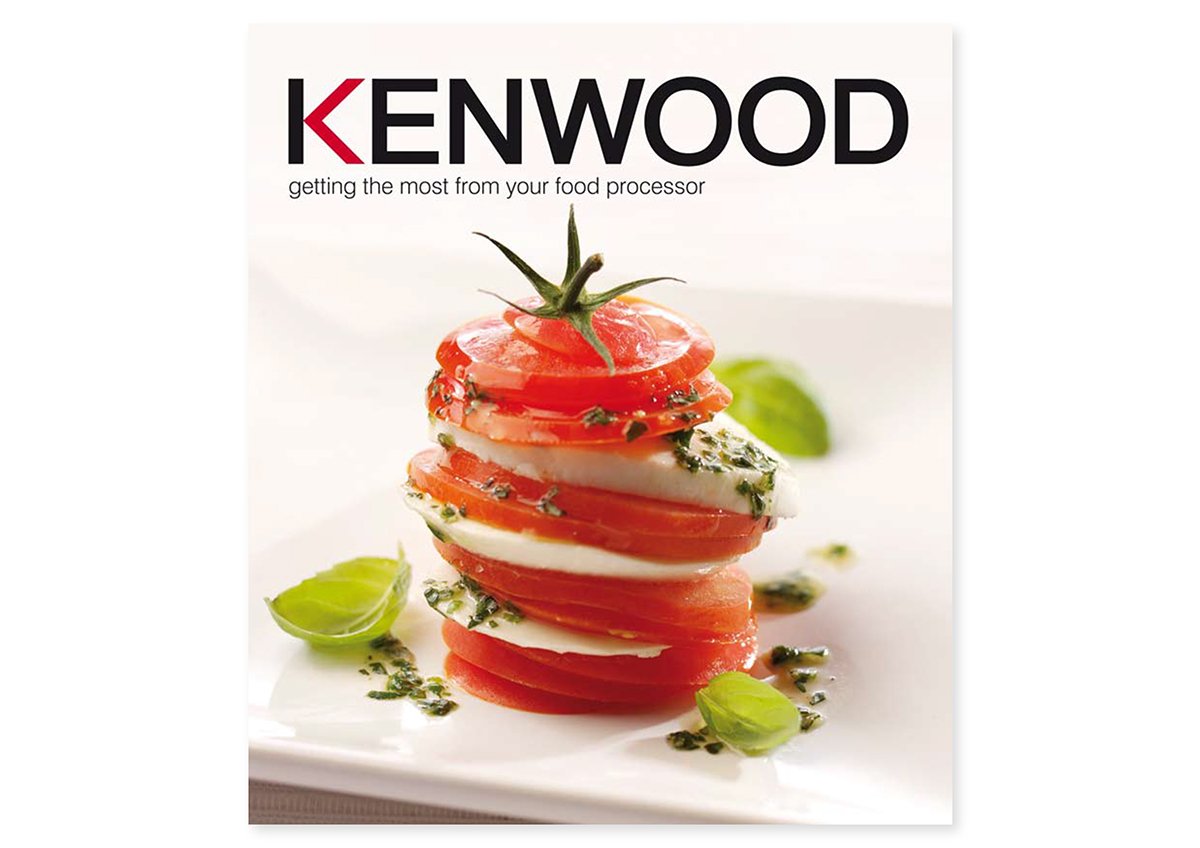 Kenwood food processor recipe book design on behance produced whilst working at bos design forumfinder Gallery