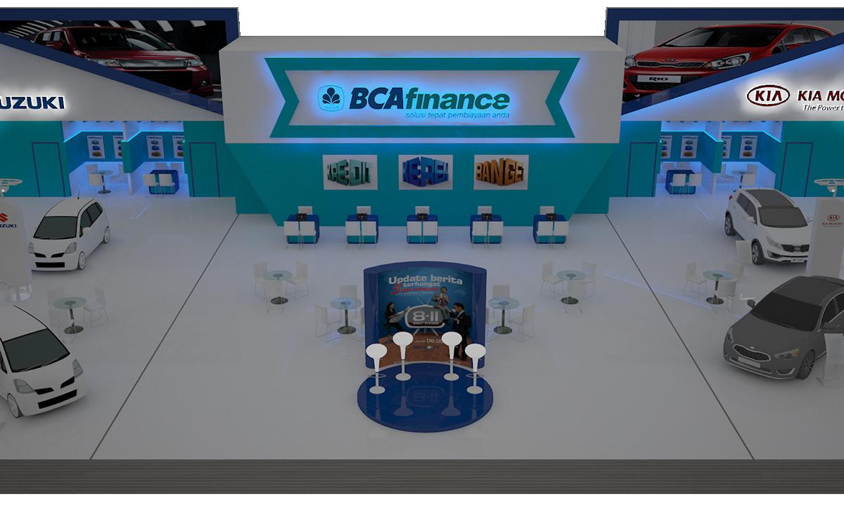 bca finance booth Exhibition  otomotive