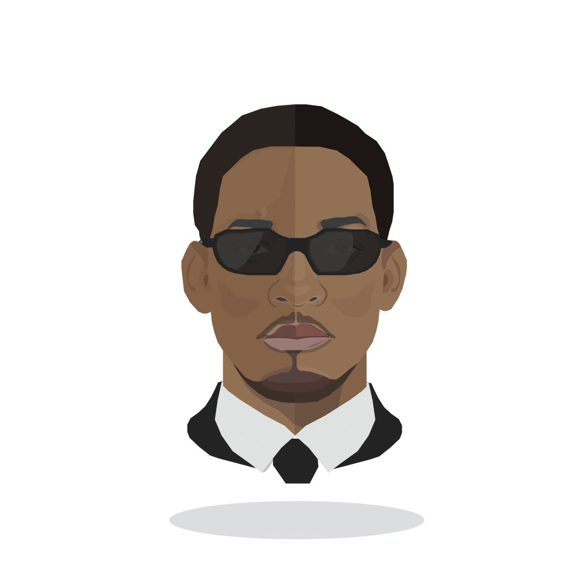 Will Smith movie ILLUSTRATION  iconic graphic design  animation  cartoon