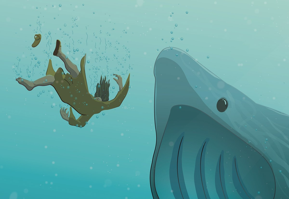 Jonah and the whale on Behance