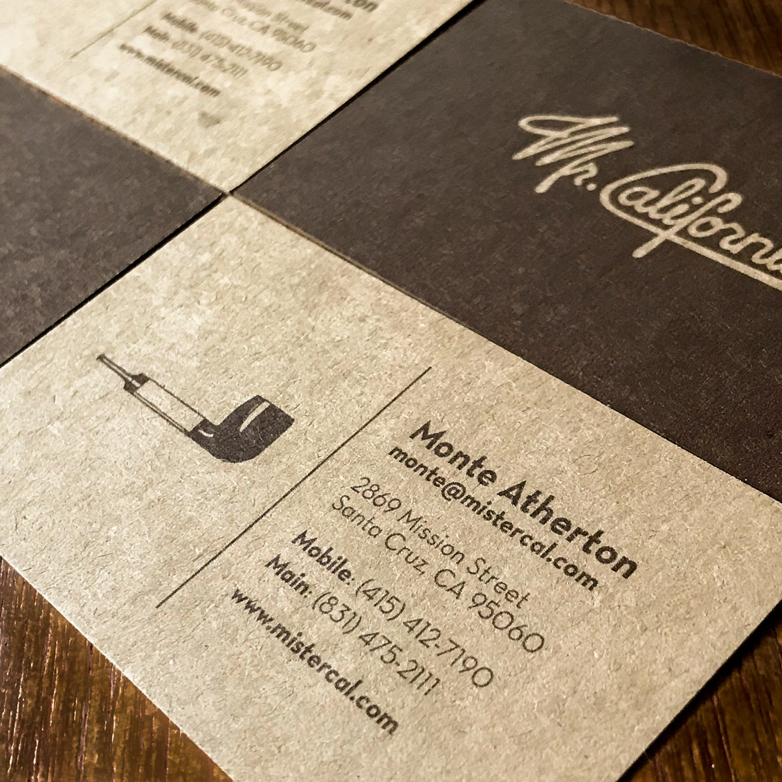 Mr california vol01 on behance business cards colourmoves
