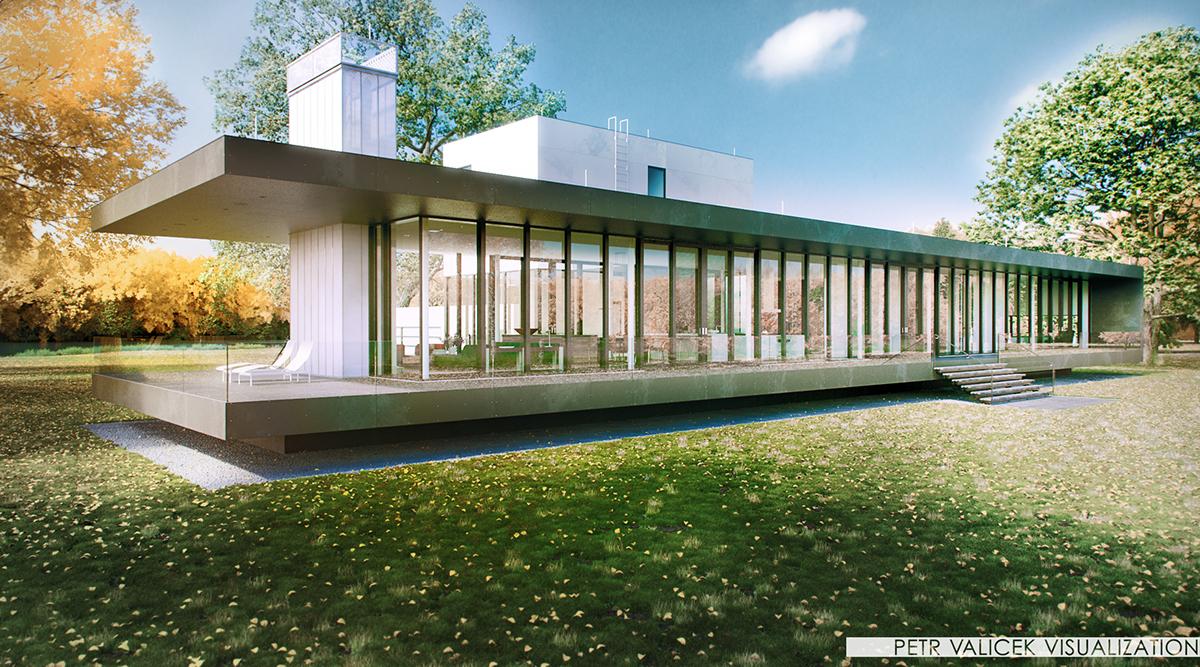architecture Robert Gurney Architect design exterior vizualisation CG