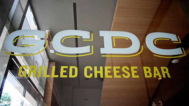 GCDC Grilled Cheese Bar Restaurant Branding, Logo Design, Washington, DC