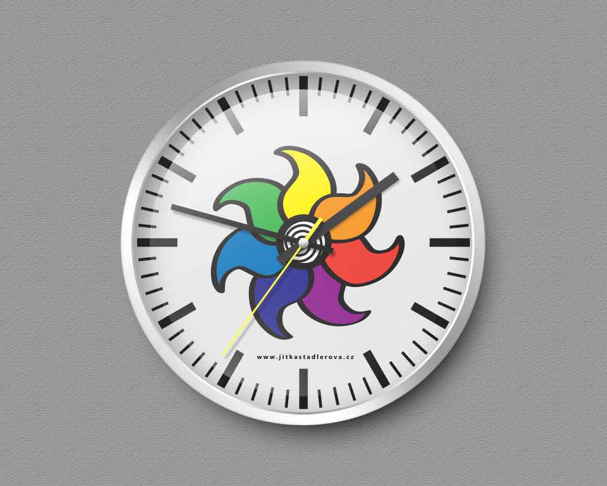 "creative management ""creativity at work"" Workshop windmill project logo coaching psychology logo mentoring Colorful Logo playful logo"