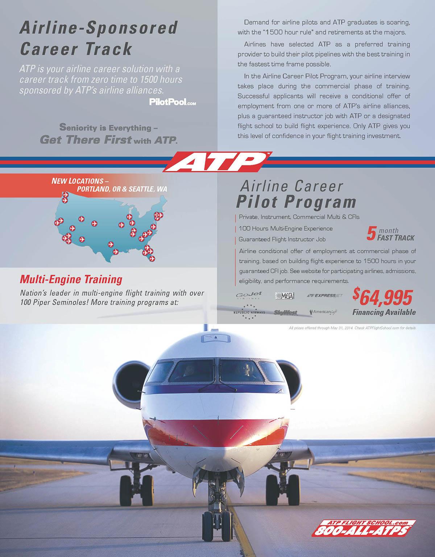 ATP Flight School Magazine Ads on Behance
