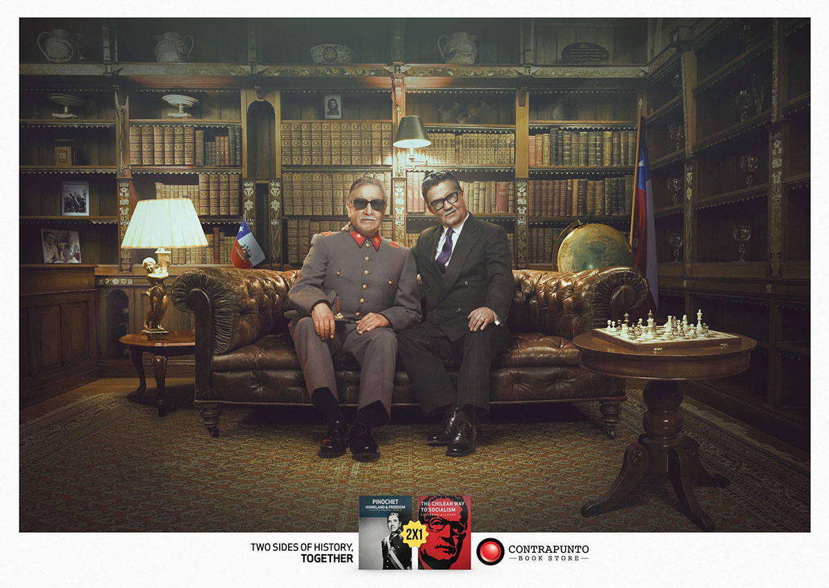 Contrapunto Hitler Churchill kennedy castro Allende pinochet Cannes lions Cannes festival