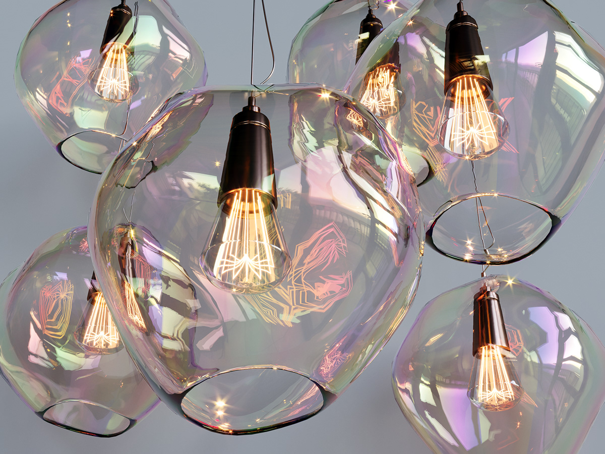Blown Glass Pendant Lighting Unique Kichler Lighting Hand Blown Glass Pendant Lights On Behance