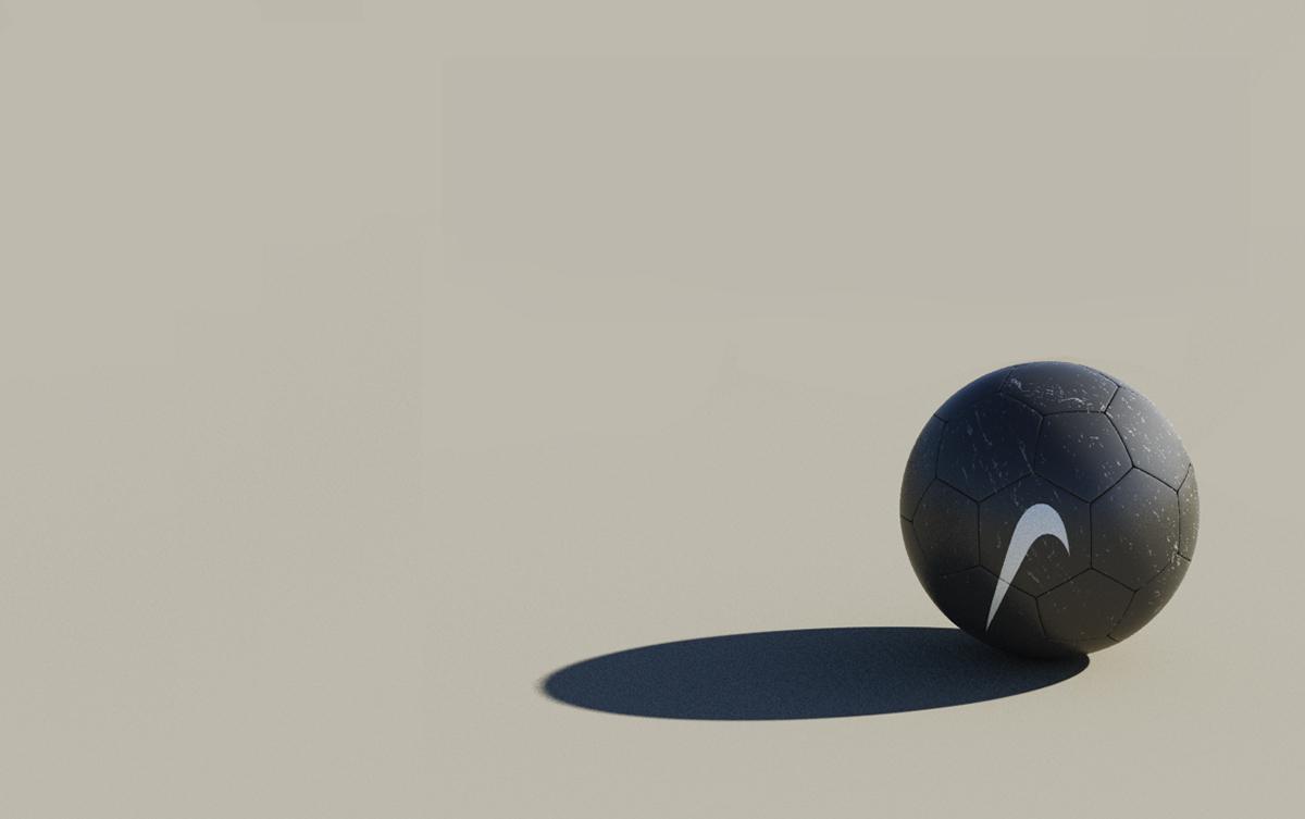 Adobe Portfolio Nike football Swoosh drone Matte Painting desert