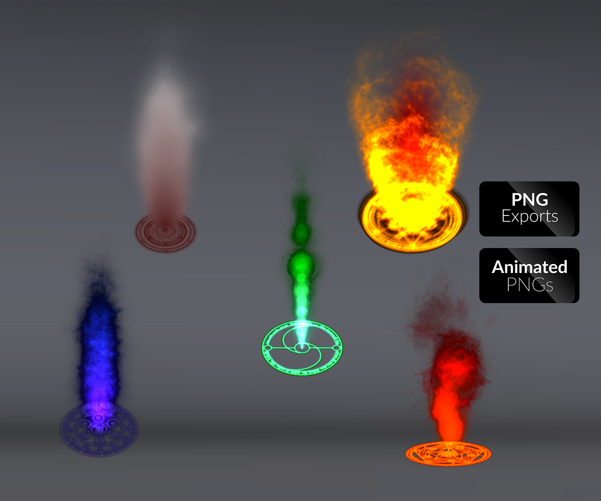 blast effects energy fantasy fighting flares flicker frames fx games effects