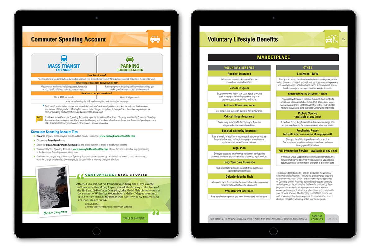 CenturyLink Benefits Annual Enrollment 2016 on Behance