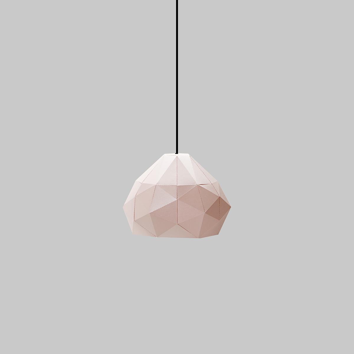 capelo lampara Lamp design poly flatpack lowpoly