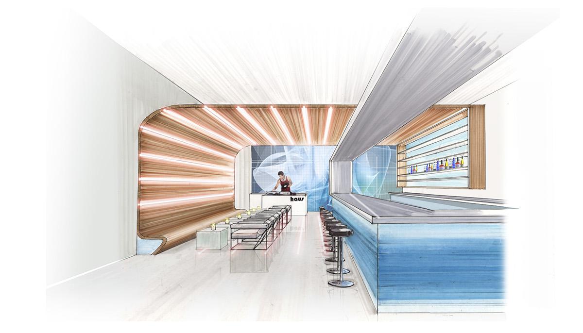 Interior Design | Haus | restaurant design on Behance