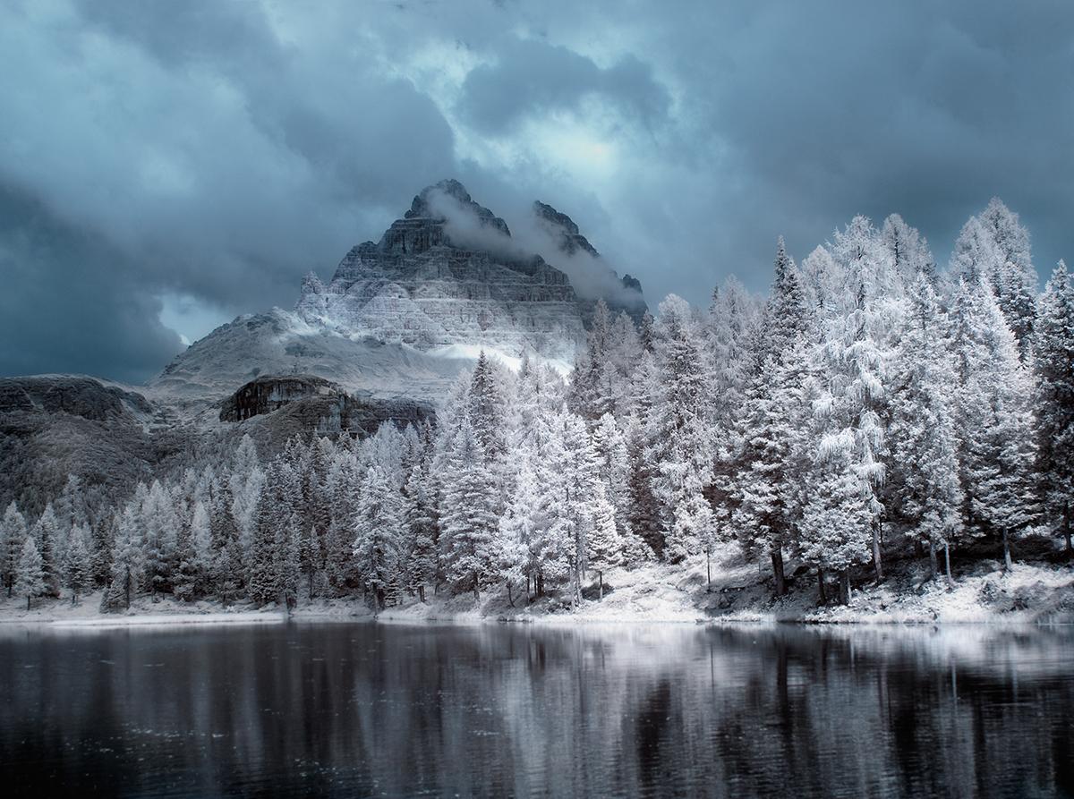 IR magic ir infrared przemyslaw kruk Landscape poland field Tree  White blue Magic   Travel color