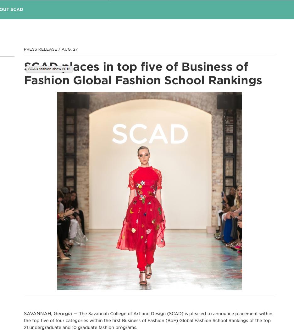 Senior Collection Scad Fashion Show 2015 Press On Behance