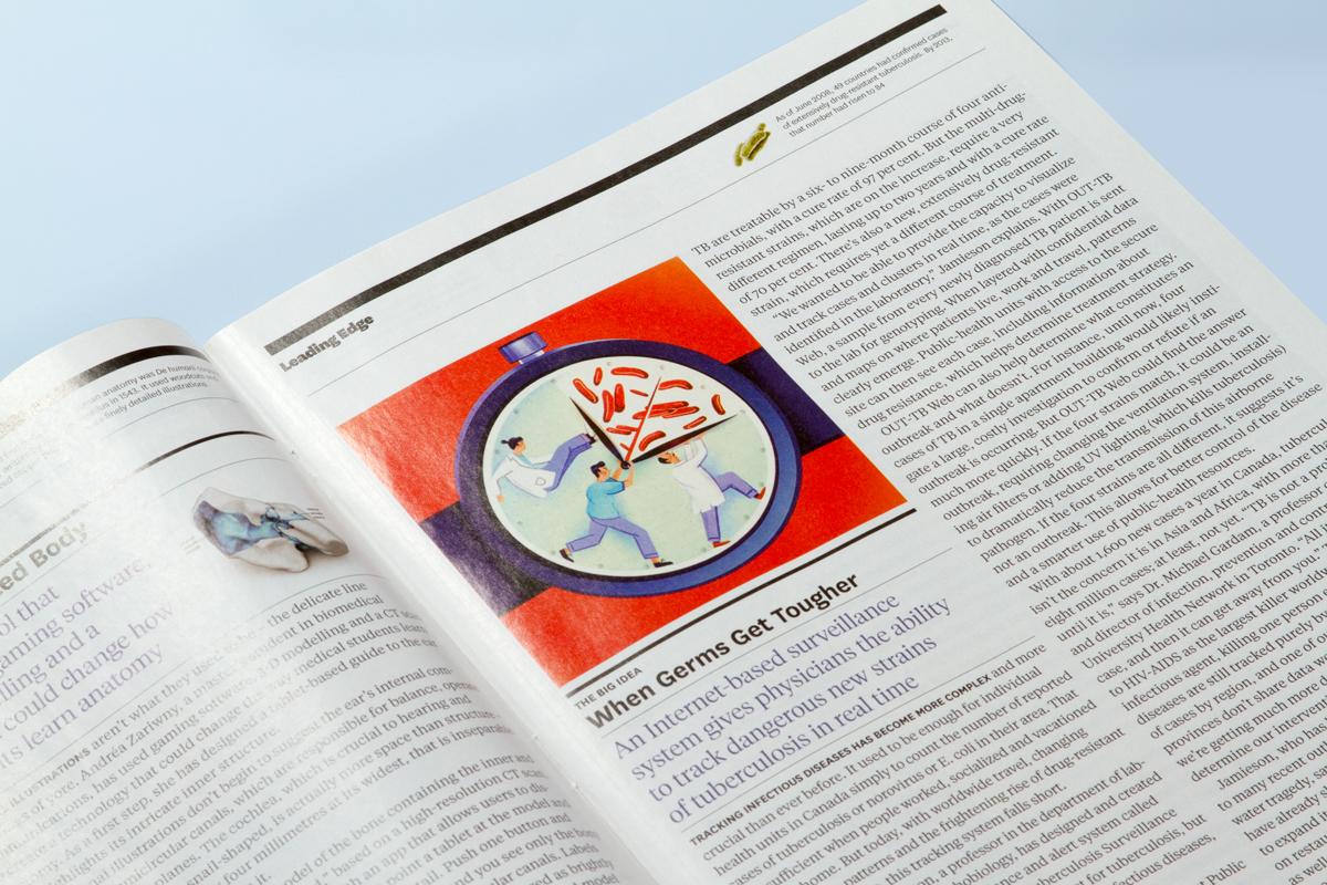 U of T Magazine on Behance