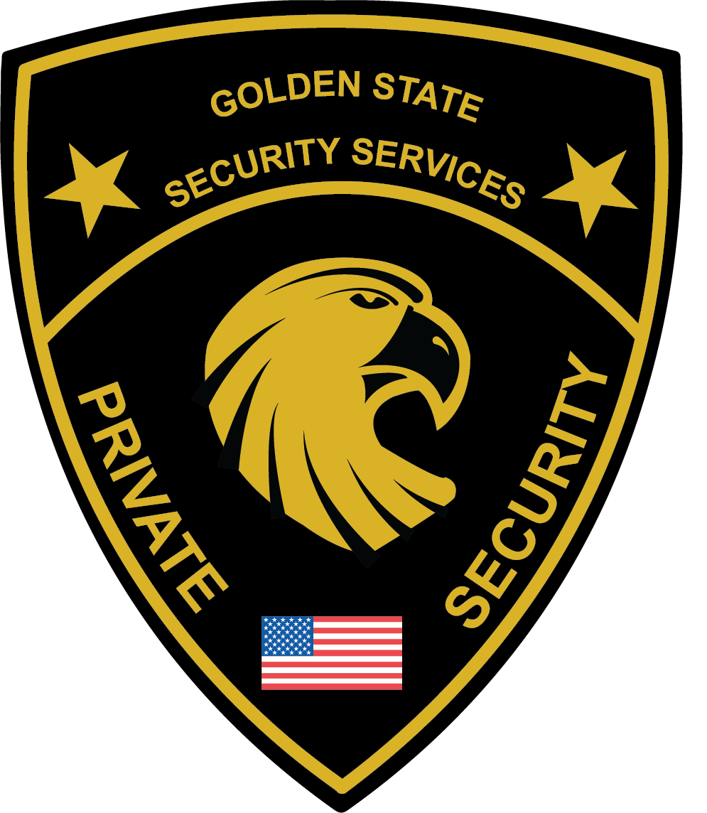 golden state security logo that I made for a company. on ...