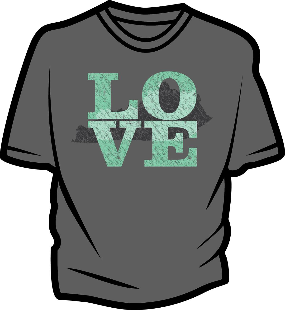 Shirt design louisville ky - State Pride Shirt Concept Design