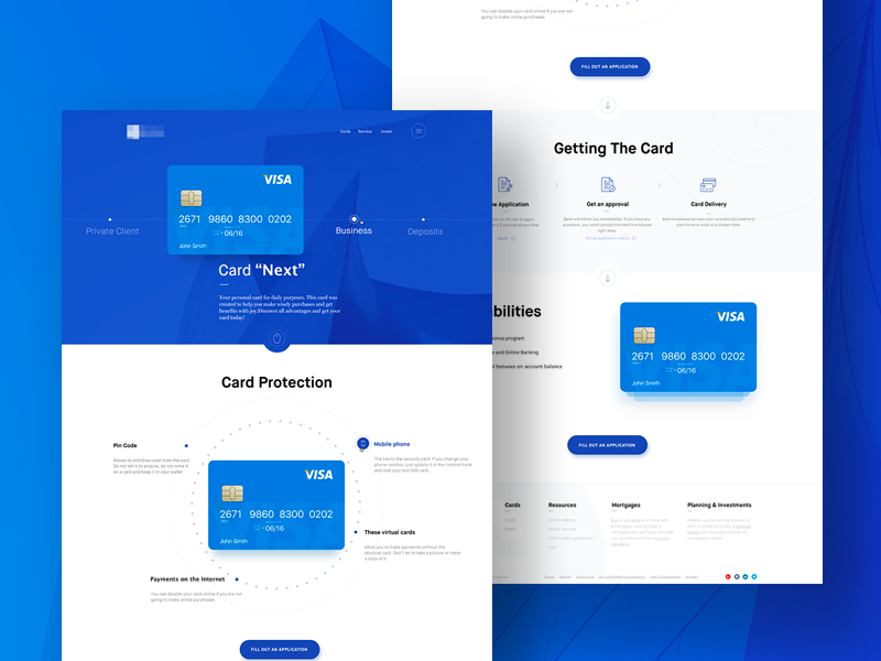 web ui ux design on behance