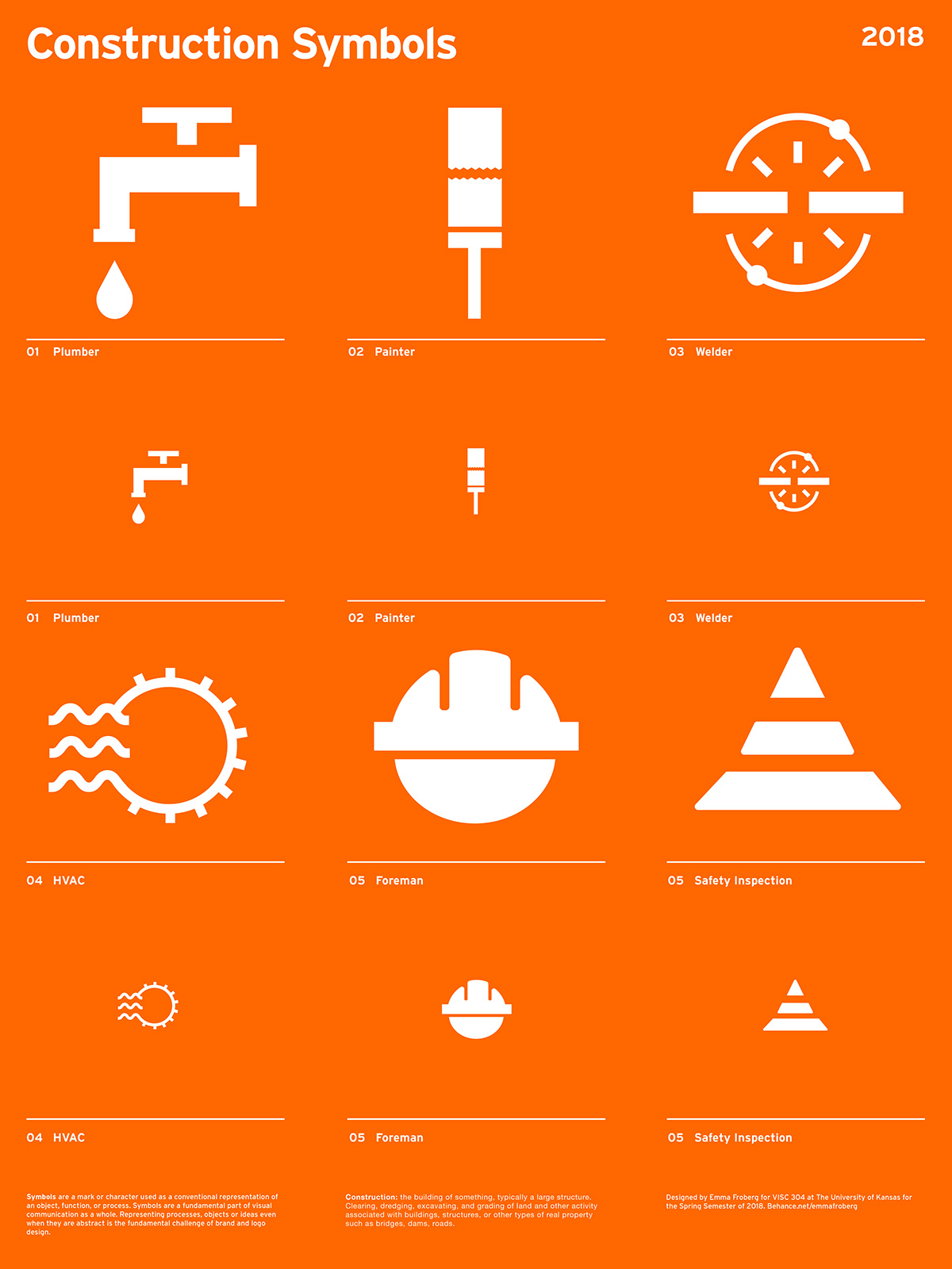 Construction Symbols On Behance