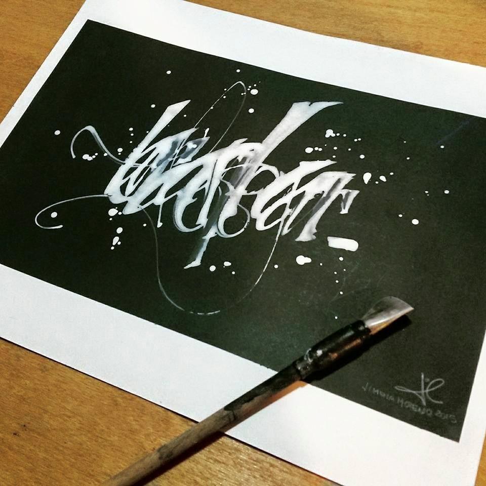 gestual caligrafia arte art
