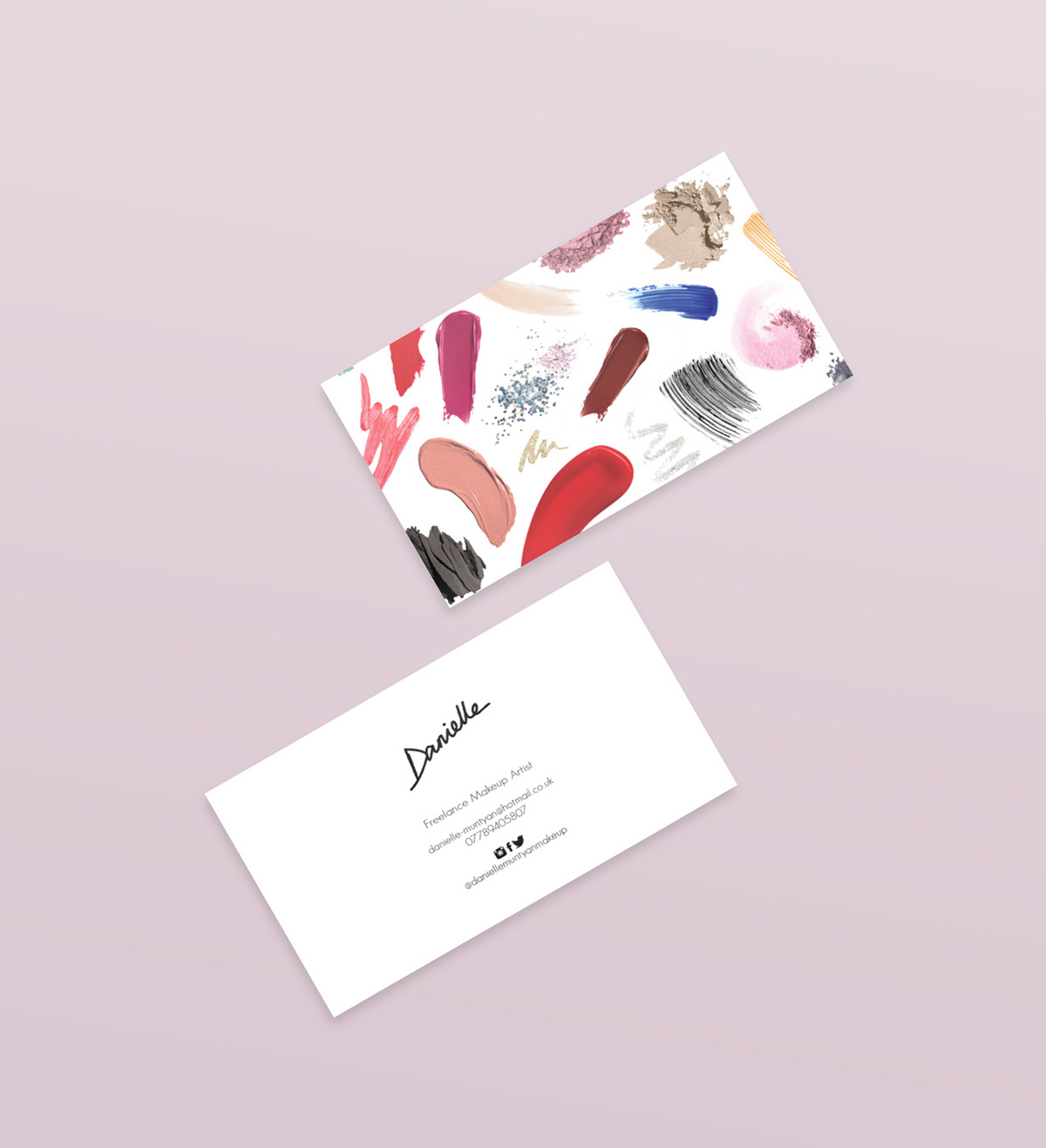 Makeup Artist Business Cards on Behance