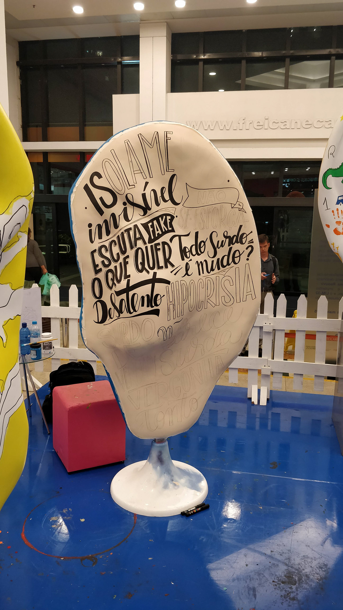earparade parade lettering handmade typography