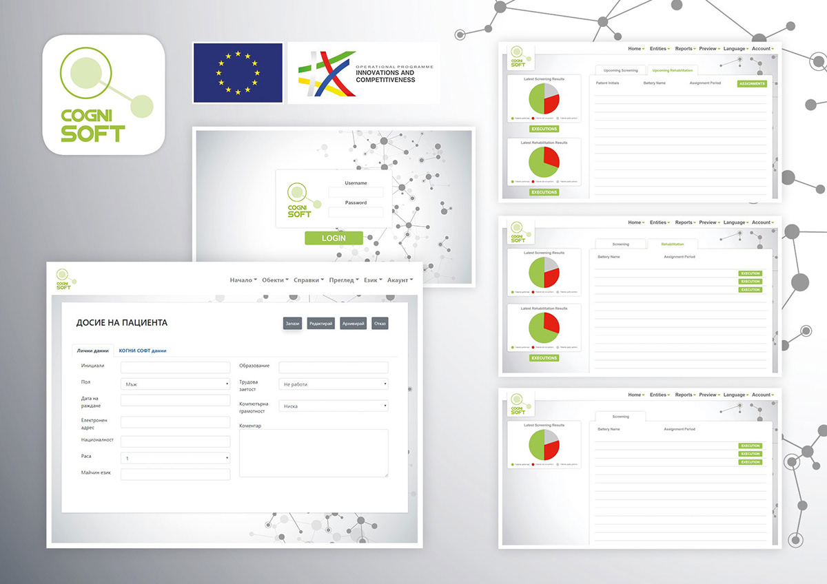 branding  Platform UI ux medical