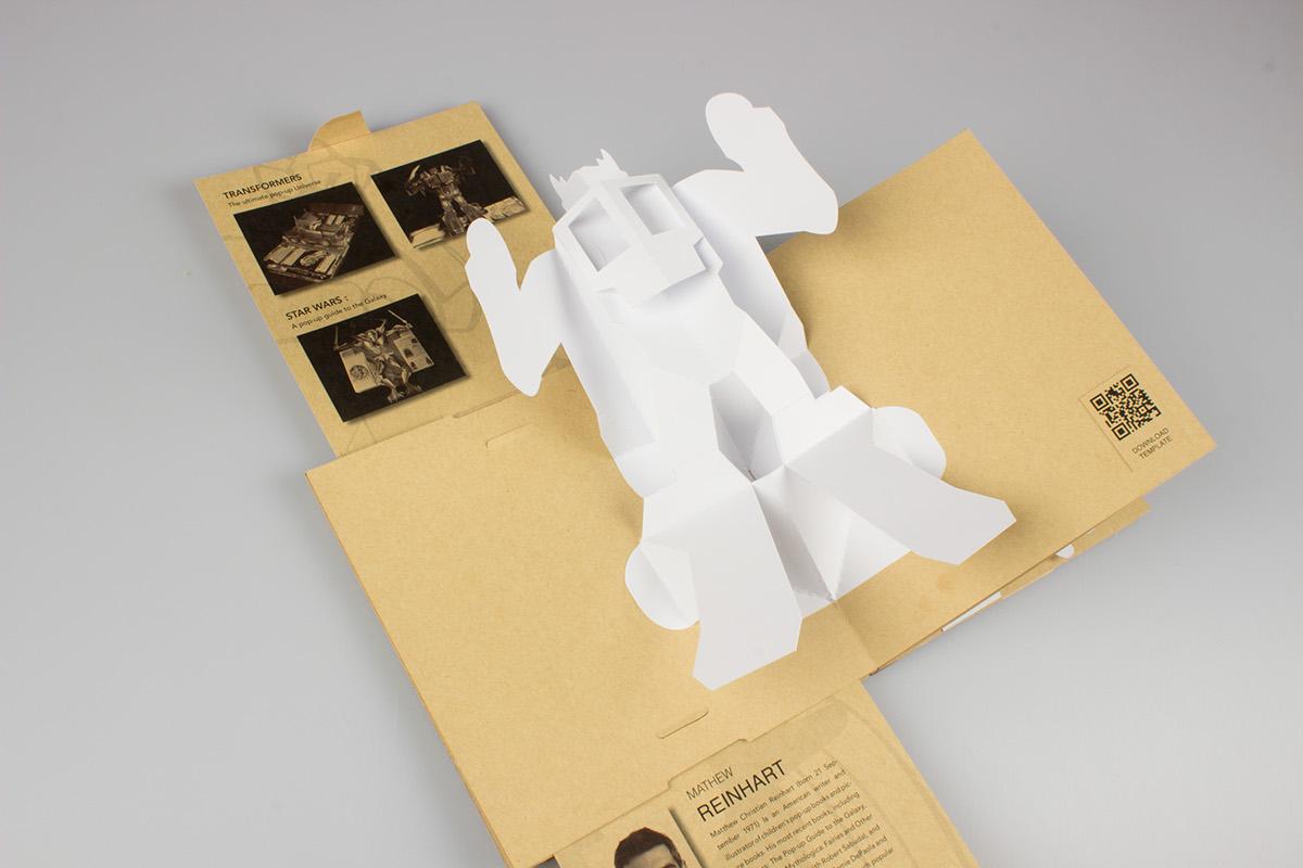 book binding v fold pop up book on behance