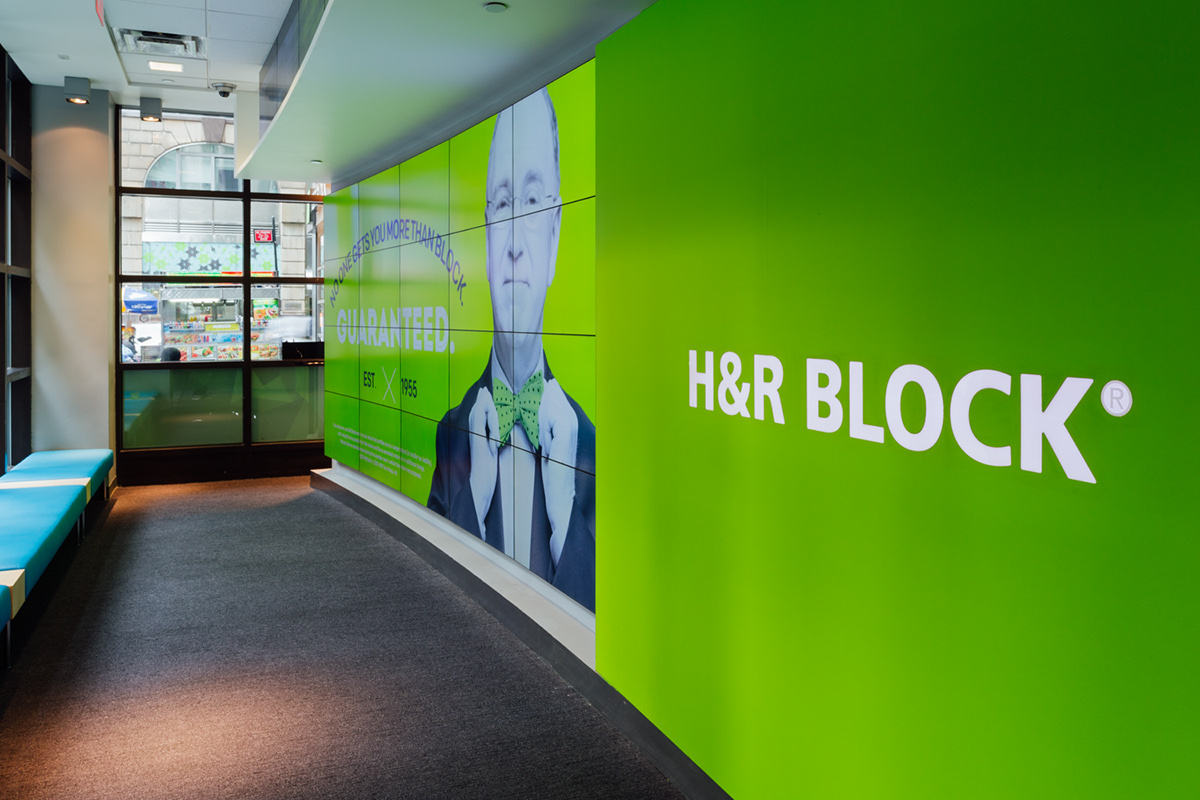 h u0026r block flagship store in times square on behance