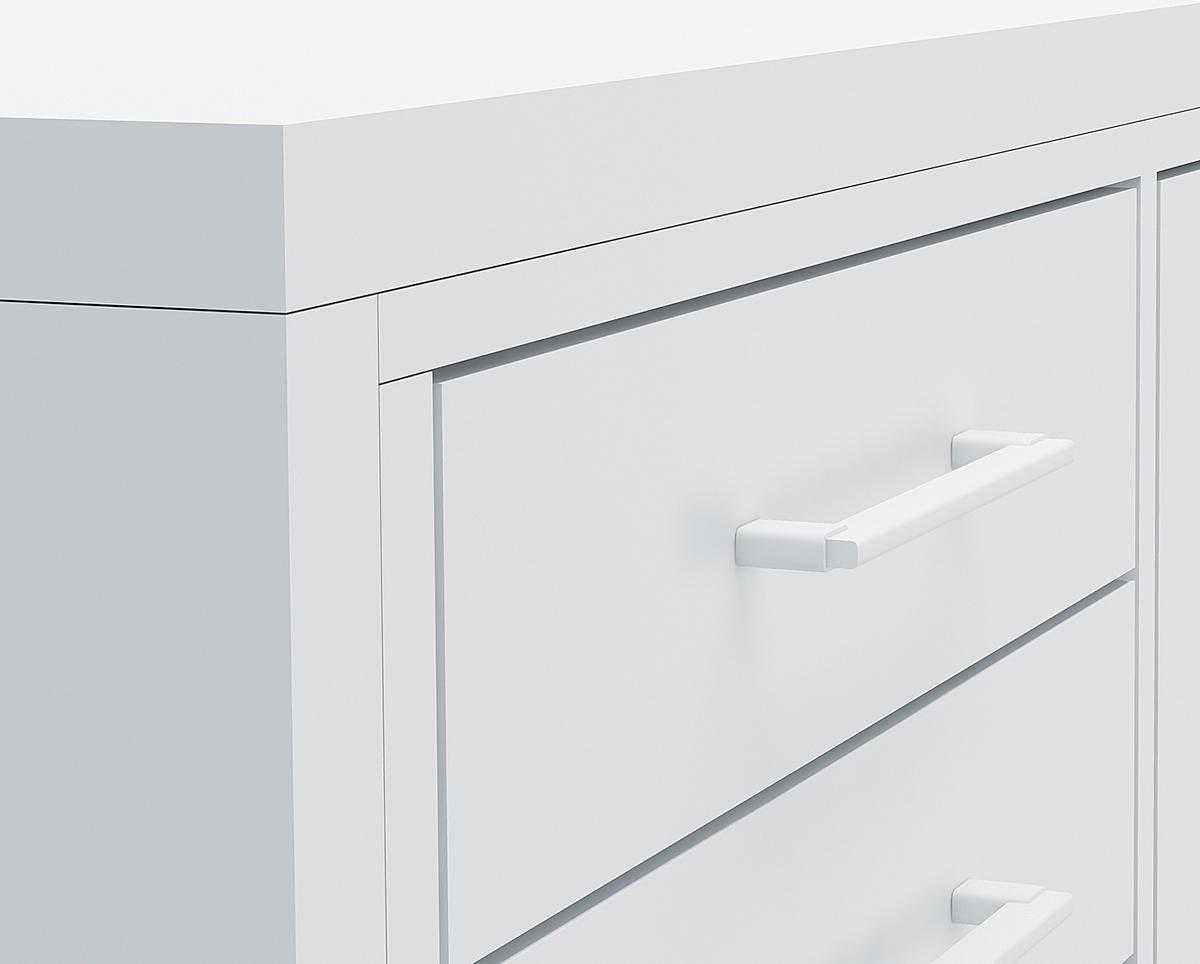 balcão office 3D rendering