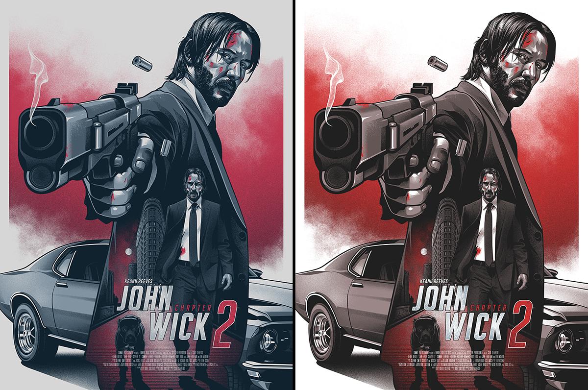 John Wick 2: John Wick 2 On Behance