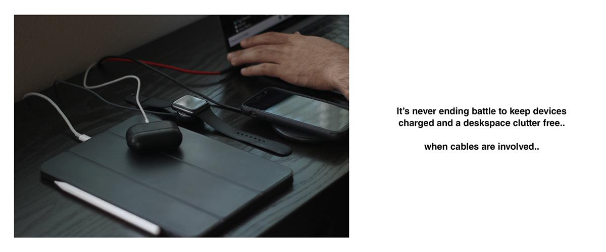 keyboard modular consumer electronics design minimal Technology wireless charging industrial design  Logitech product design