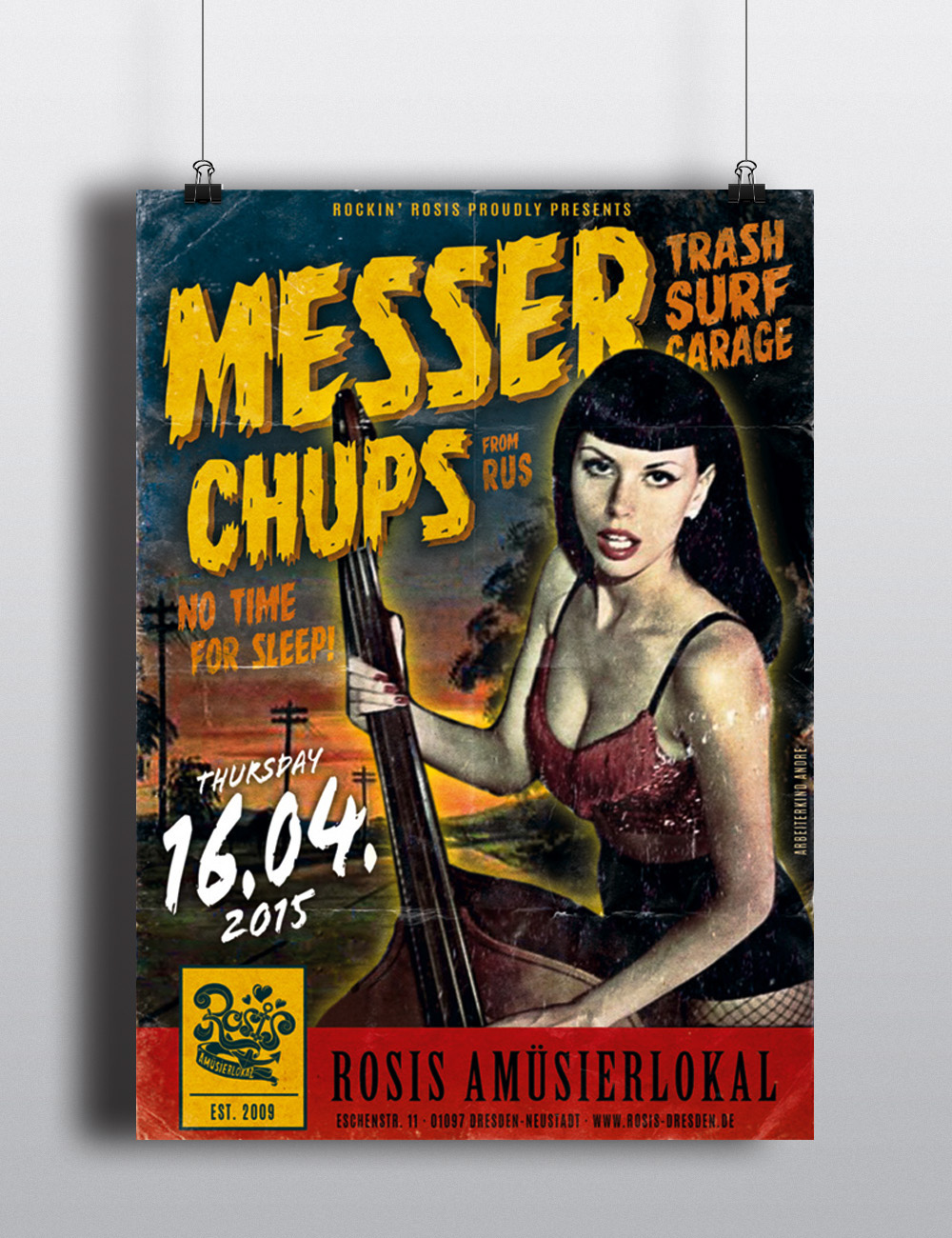 lettering signpainting vintage poster eventposter bandposter comic handpainted illustration