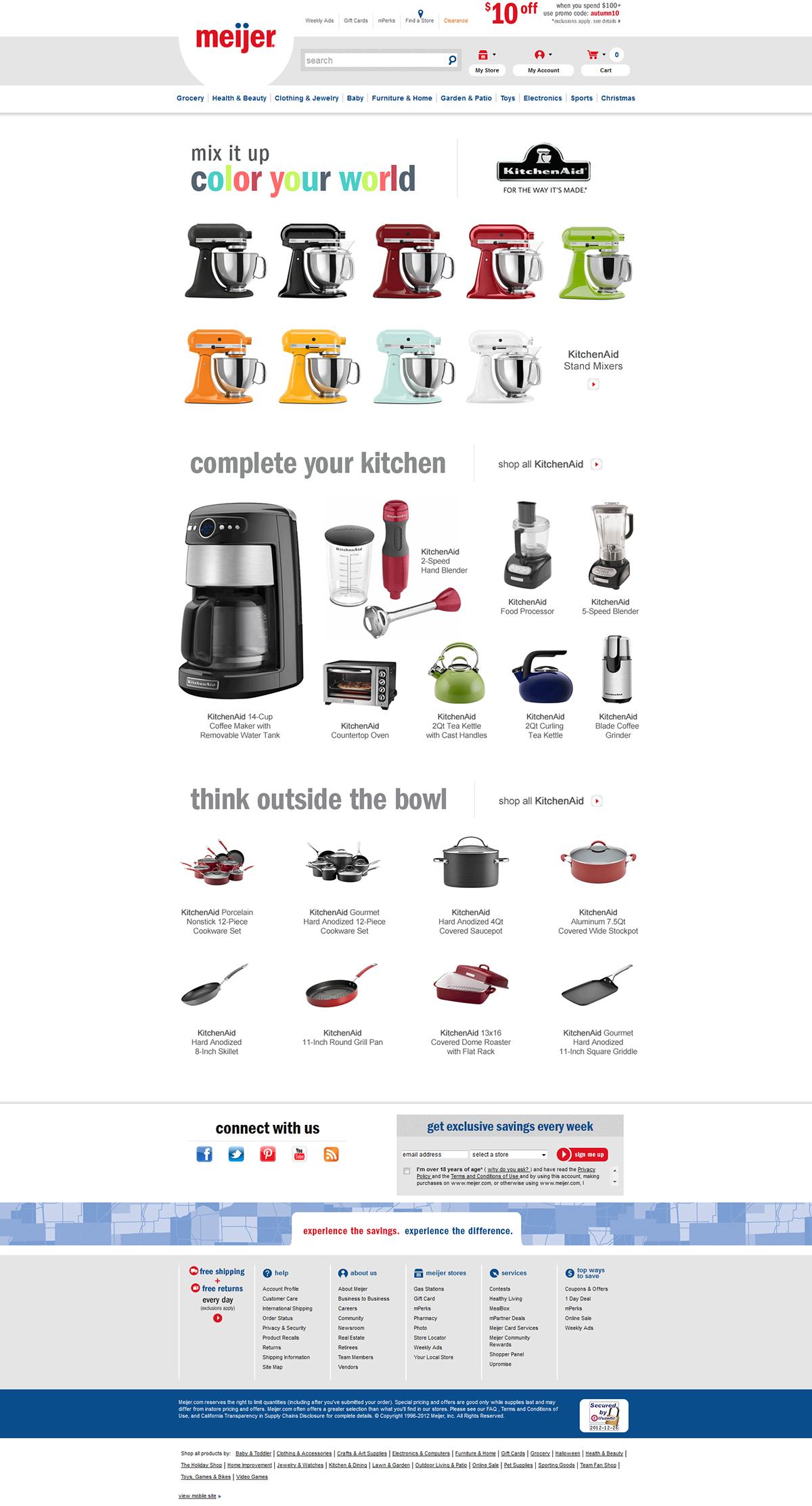 Meijer - KitchenAid on Behance