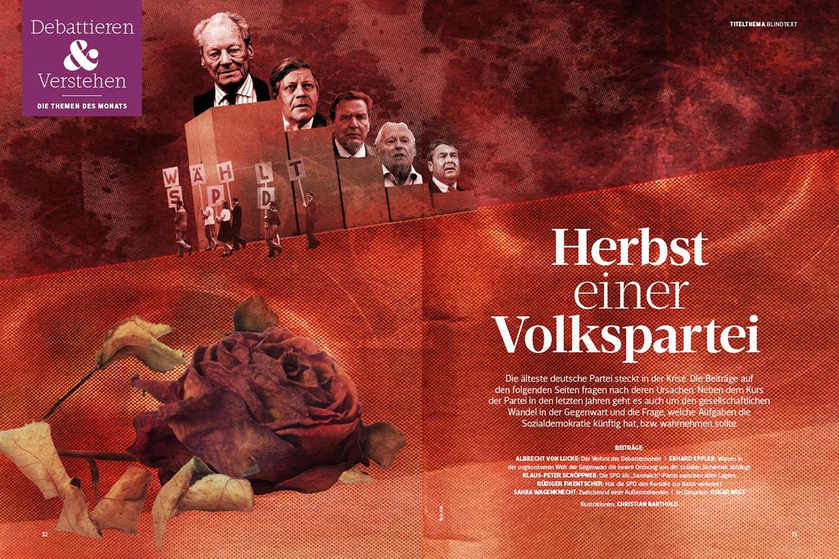 Aufmacher - Herbst einer Volkspartei (SPD)