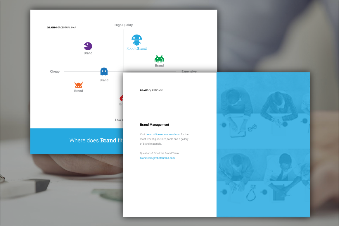 logo presentation template ai psd indd on behance