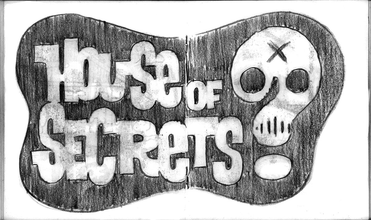 sketchbook logo skull ragnar