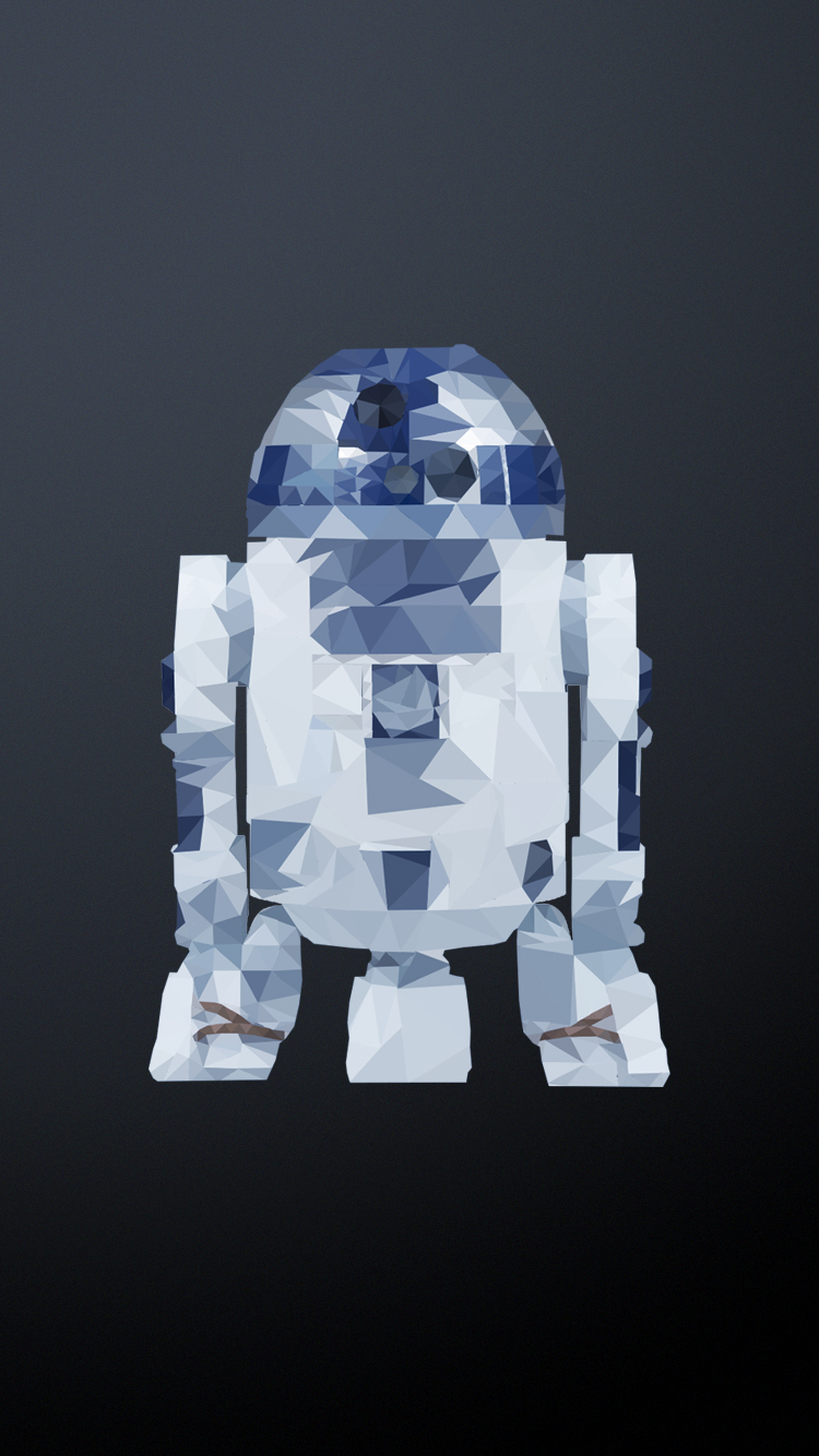 Star Wars Low Poly Art Wallpapers On Behance