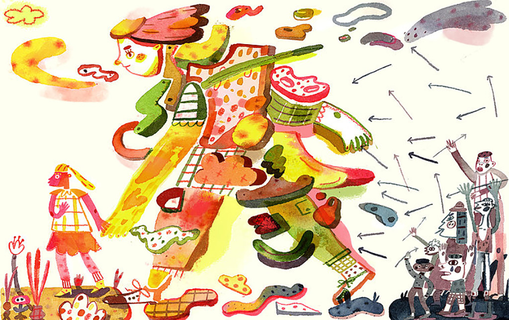 editorial buzzfeed haejinpark abortion debate essay heart MedicalIllustraiton ScienceIllustration watercolor