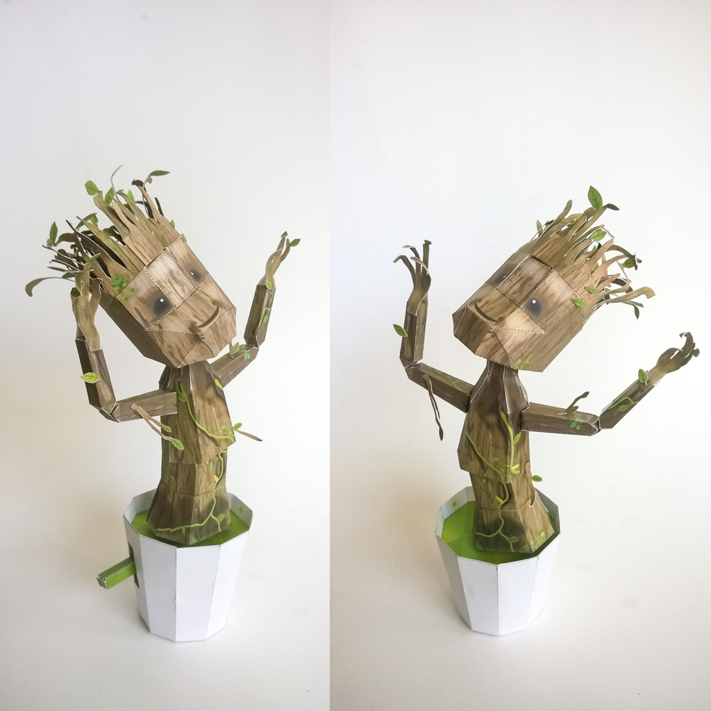 dancing groot toy instructions